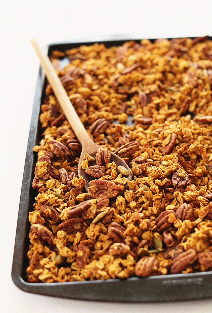running shoes reviews ratings SIMPLE Pumpkin Pecan Granola naturally sweetened with maple syrup and LOADED with pecans and pepitas   vegan  glutenfree