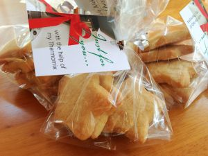 #Shortbread Stars - a great treat for #Christmas - #Thermomix