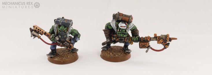 Burna Squad Spellcrow Ork Blood Axe Clan Warhammer 40K