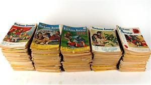 Lauritz.com - Memorablia och böcker - Jules Verne-Magasinet Veckans Äventyr, tidningar, 1940-tal, ca 250 st - SE, Stockholm, Slakthusgatan