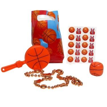 Basketball Favor Ideas | All-Star Basketball Party Favor Kit 26009
