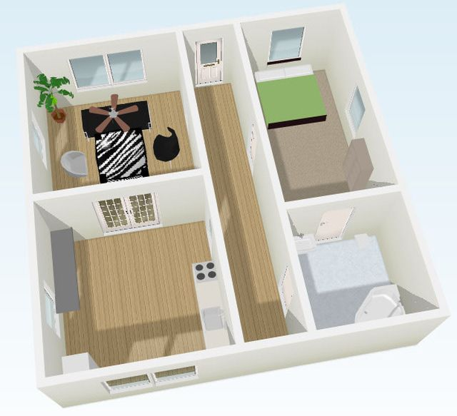 Why Floorplanner is the Best Free Room Design App out There: A Room  Desinged Using