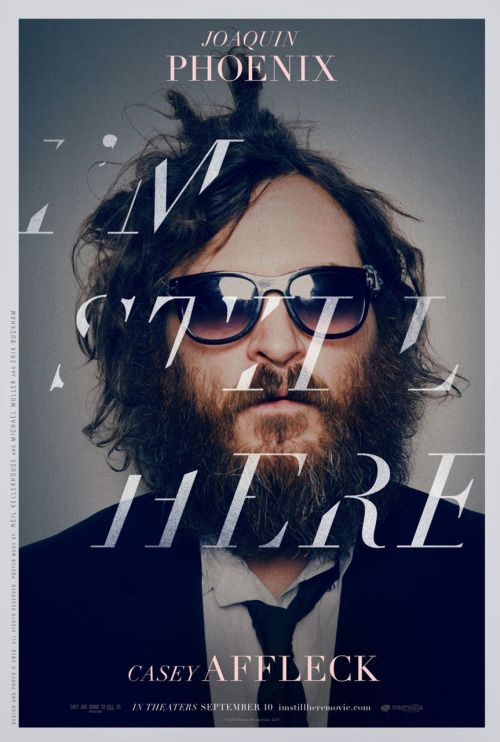 I'm Still Here (2010) Documenting the breakdown ofrenownedactor Joaquin Phoenix, I'm Still Here provides an amazing glimpse into the mind of a man conflicted. The film follows Phoenix as he tells the media that he is retiring from acting and pursuing a career in music,specificallyrap music. I found the film fascinating for it's honesty. While I already knew that it was a mockumentary (everything was staged), there was still a truth to what was happening. I don't b...