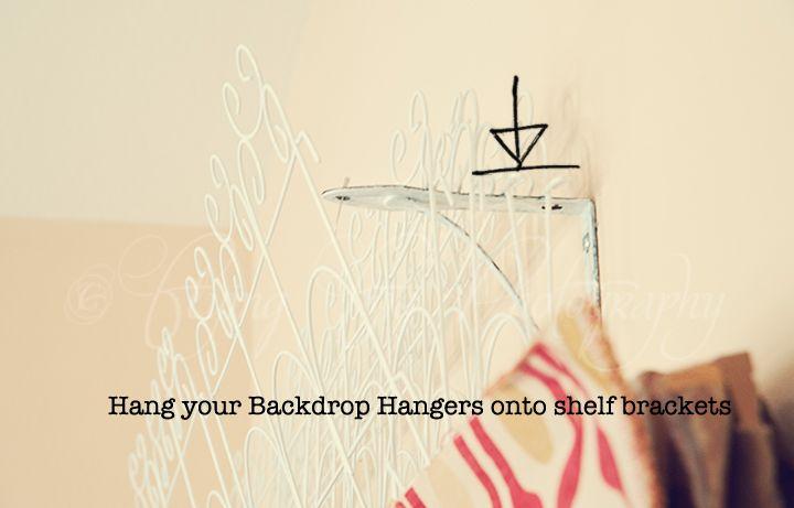 Flying Fig Photography: Backdrop Hanger