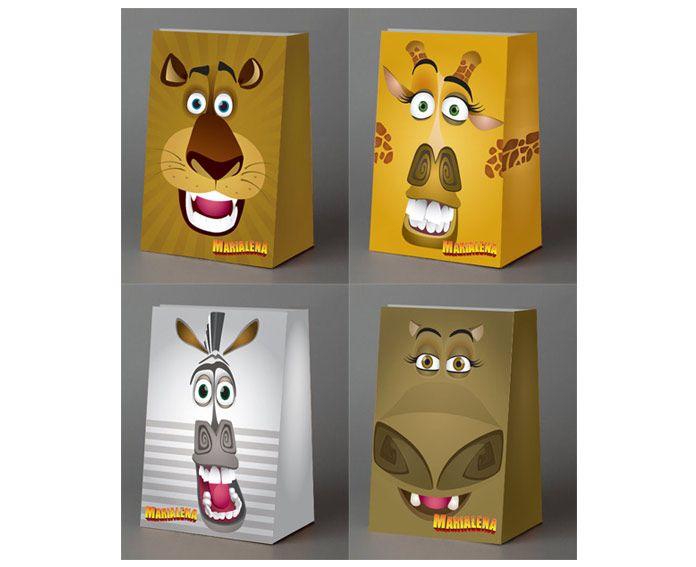 bolsitas de papel personalizads de madagascar