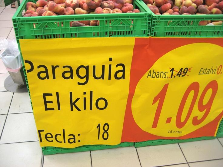 """Más gazapos en Alcampo. Hoy está de oferta el """"PARAGUIA"""". Toma ya! http://hartadealcampo.wordpress.com/2012/08/13/hartadealcampo-paraguayos-gazapo/"""