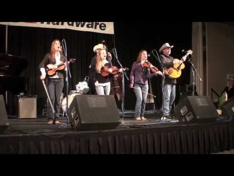 "Quebe Sisters Band  ""I'm Walking the Floor Over You"""