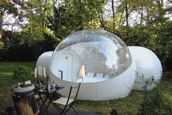 inflatable bubble tent!!!!