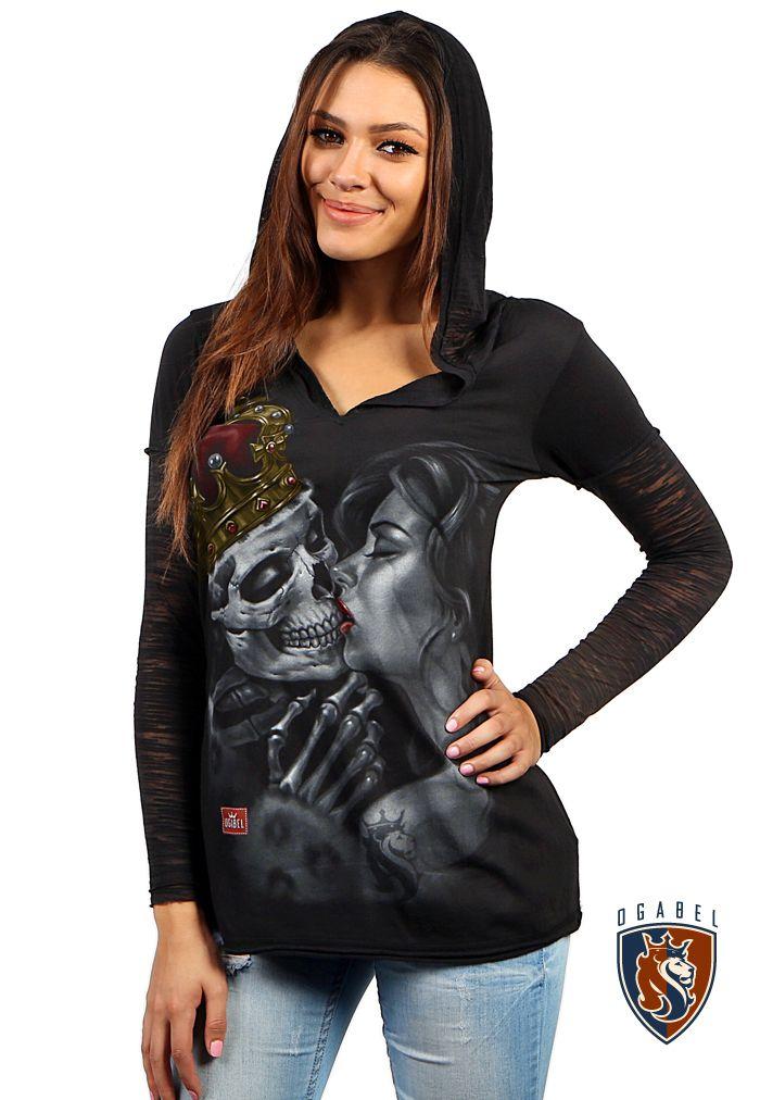 OGABEL.COM - Lost King Pullover LS Lite Hoodie, $38.00 (http://www.shopogabel.com/lost-king-pullover-ls-lite-hoodie/)