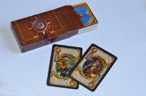 Самодельные игральные карты Hearthstone Hearthstone, игральные карты, warcraft, Heroes of Warcraft, wow, blizzard, Игры, длиннопост