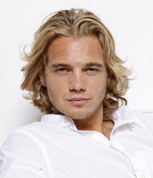 beautiful long blonde hair men s hair and fashion