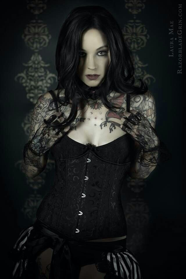 Pin By Heather Lossie On Gothic Pinterest Dark Beauty