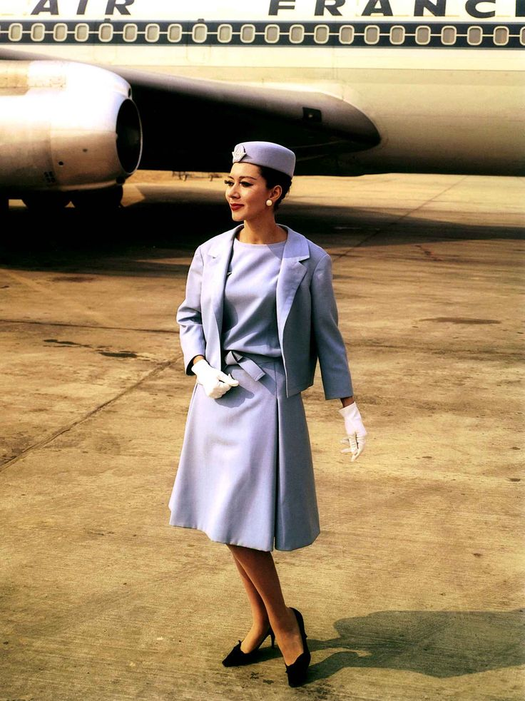 Air France / Dior Vintage Comercial Airplanes