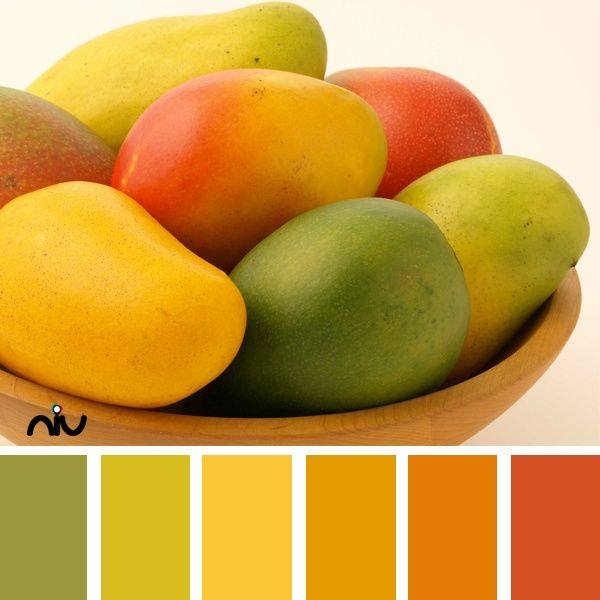 Decorating With Colors Mango: Mango Color Palette (via NIU Paint Colors For Exterior