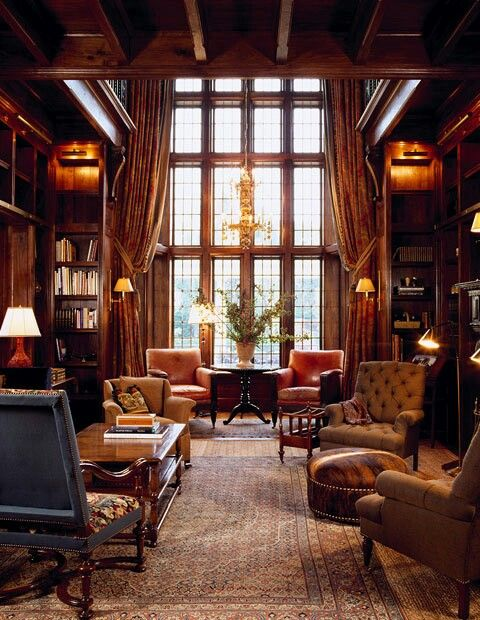 English style for the drawing room