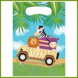 Party Bags, $2.49 Cdn pkg/8 http://www.allthatstuff.net/SafariAdventure/safari-adventure-party-supplies.html
