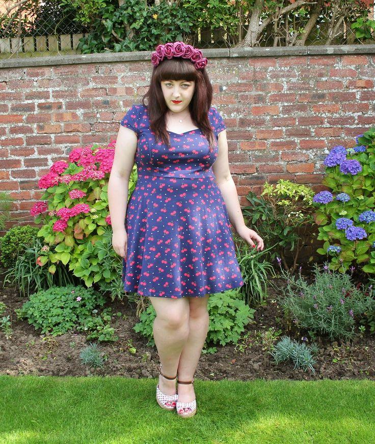 Cherry Print Dress, Crown and Glory Floral Headband, Strawberry Print Sandals