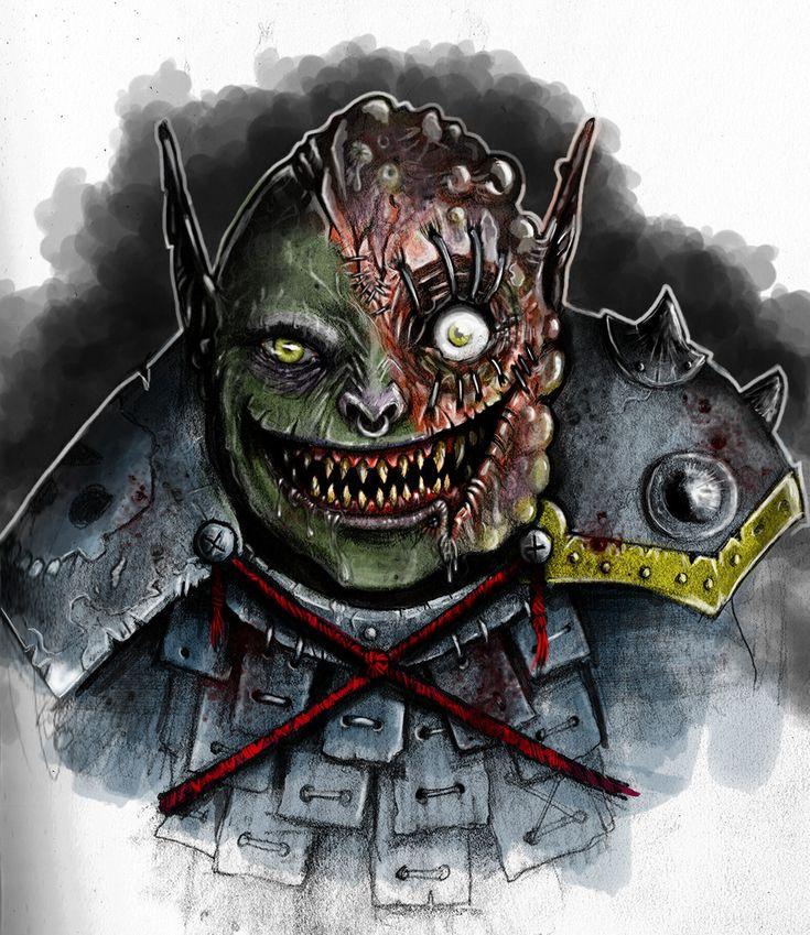 #gross #goblin #orc #burned #mutant #disfigured #rpg #fantasy #dungeonsnaddragons #dnd #pathfinder