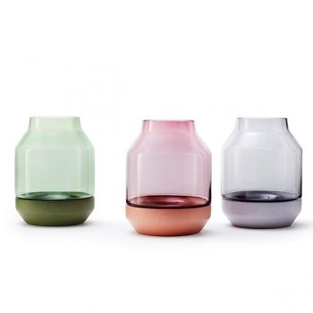 Elevated vases by Muuto.