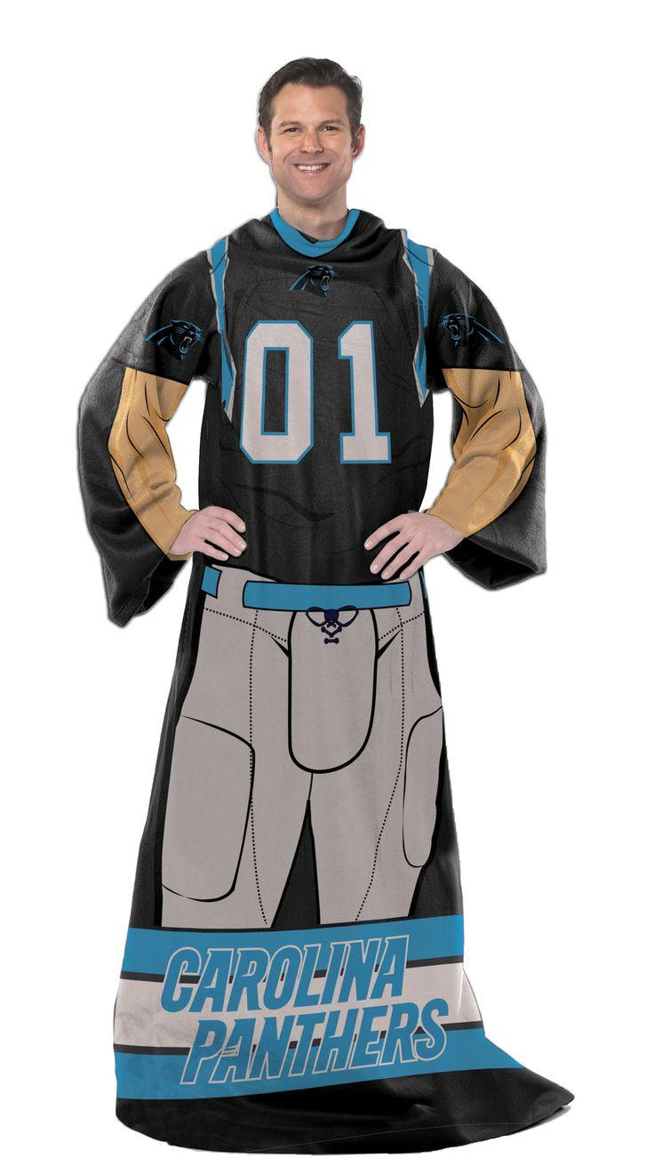 NFL Panthers Uniform Comfy Throw