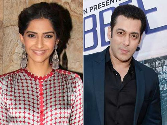 Sonam kapoor receives fitness tips from salman khan http www ndtv