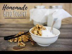 Low Carb Joghurt | 2 Zutaten! – KetoConnect – #Carb #Joghurt #KetoConnect #Zutat… #Ketogene