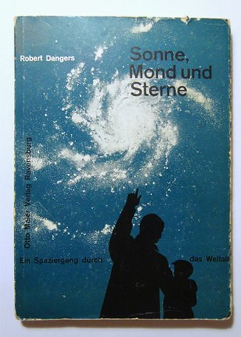 "- not sure what it says below but, there's just something about a ""Father"" teaching his child that grabs my heart.  josef müller brockmann. sonne, mond und sterne"