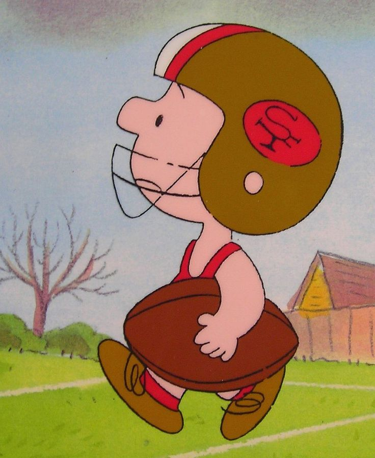 """""""You're in the Super Bowl, Charlie Brown"""" #49ers"""