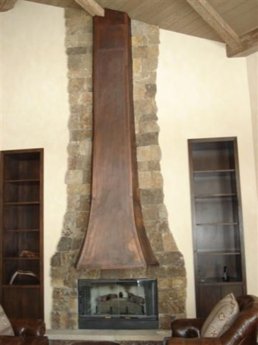 45 Best Images About Copper Fireplace Surrounds On Pinterest
