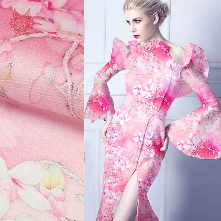 Giá rẻ Màu hồng in hoa 100% tinh khiết vải lụa organza cho áo sơ mi 12 mét lụa vải vải tejido tela cho may SP3496 miễn phí vận chuyển, Mua Chất lượng Vải trực tiếp từ Trung Quốc nhà cung cấp:  loại: Floral printed 100% vải lụa organzamàu sắc: màu Hồng như pic cho thấychất liệu: 100% Lụachiều rộng: % 140cm