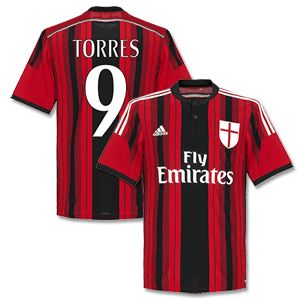 Adidas AC Milan Home Torres 9 Boys Shirt 2014 2015 (Fan AC Milan Home Torres 9 Boys Shirt 2014 2015 (Fan Style Printing) http://www.comparestoreprices.co.uk/football-shirts/adidas-ac-milan-home-torres-9-boys-shirt-2014-2015-fan.asp