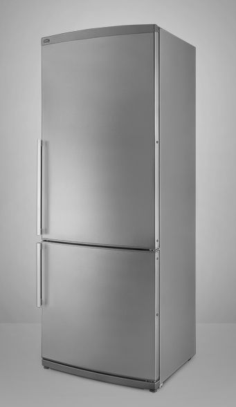 "10 Easy Pieces: Favorite Appliances for Small Kitchens : Remodelista  The Summitt 24"" wide stainless steel refrigerator"
