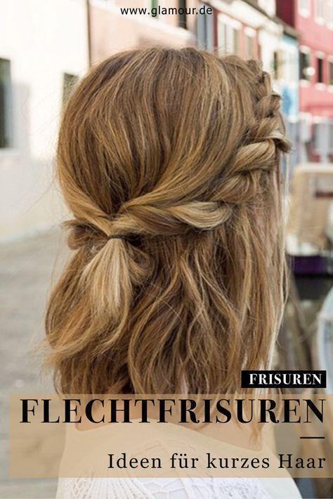 Zöpfe für kurzes Haar: die schönsten Styles