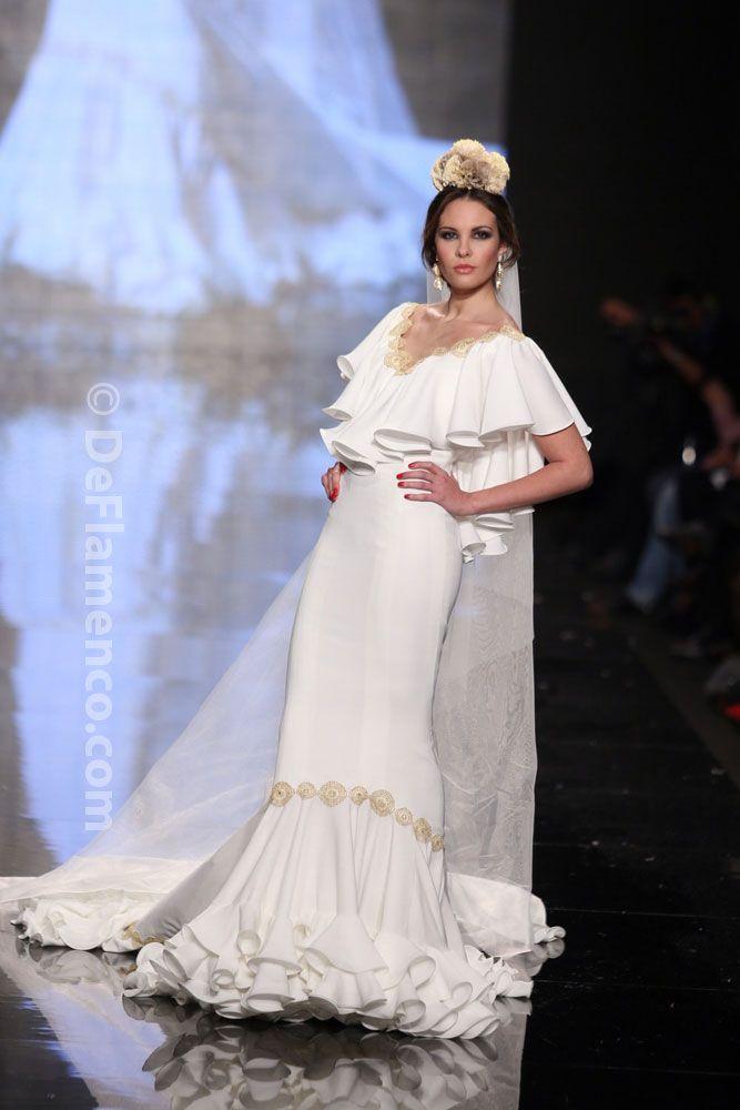 Fotografías Moda Flamenca - Simof 2014 - Sara de Benitez 'Flamên a portet' Simof 2014 - Foto 18
