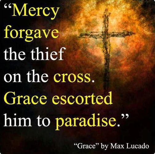 God's grace and mercy!!! ♥