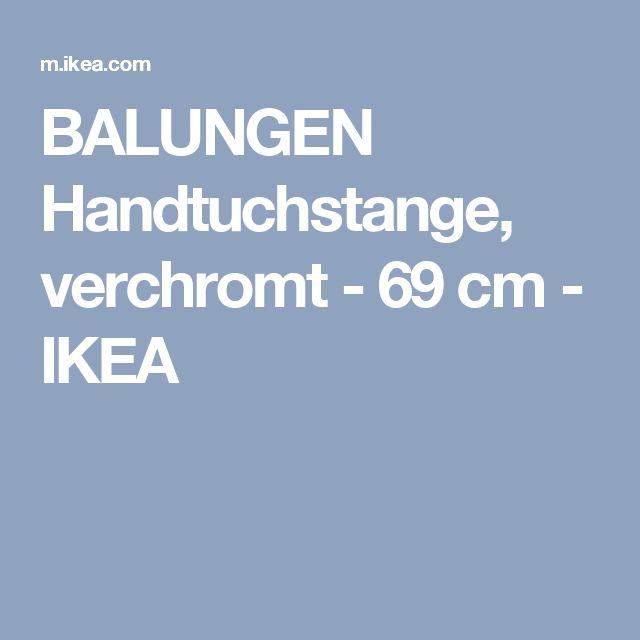 BALUNGEN Handtuchstange, verchromt - 69 cm - IKEA