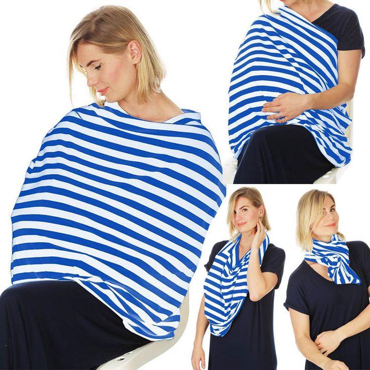 Newborn Nurse Garment Infinity Baby Nursing Cover Scarf Newborn Breastfeeding Stretchy Infant Cart Seat Cover Women Udder Covers
