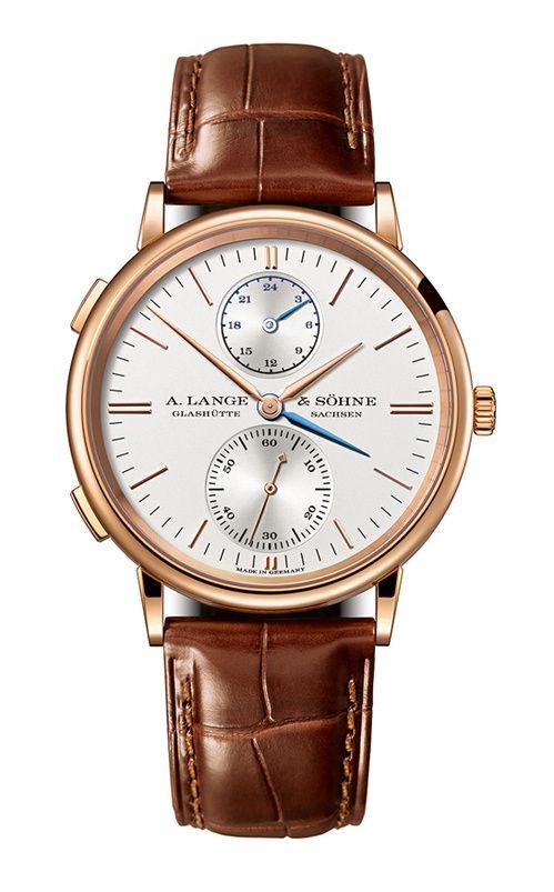 La montre Saxonia Double Fuseau Horaire d'A. Lange & Söhne http://www.vogue.fr/vogue-hommes/montres/diaporama/les-belles-montres-homme-du-sihh-2015/18878/carrousel#la-montre-saxonia-double-fuseau-horaire-da-lange-shne