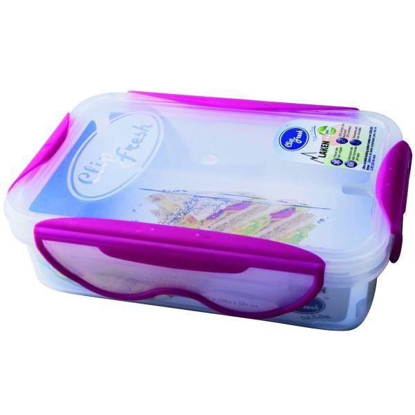 Laken BPA-fri madkasse 0,6L - Lyserød