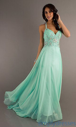 Long Dresses, Long Formal Dresses, Long Prom Gowns - SimplyDresses for my little sisters prom?