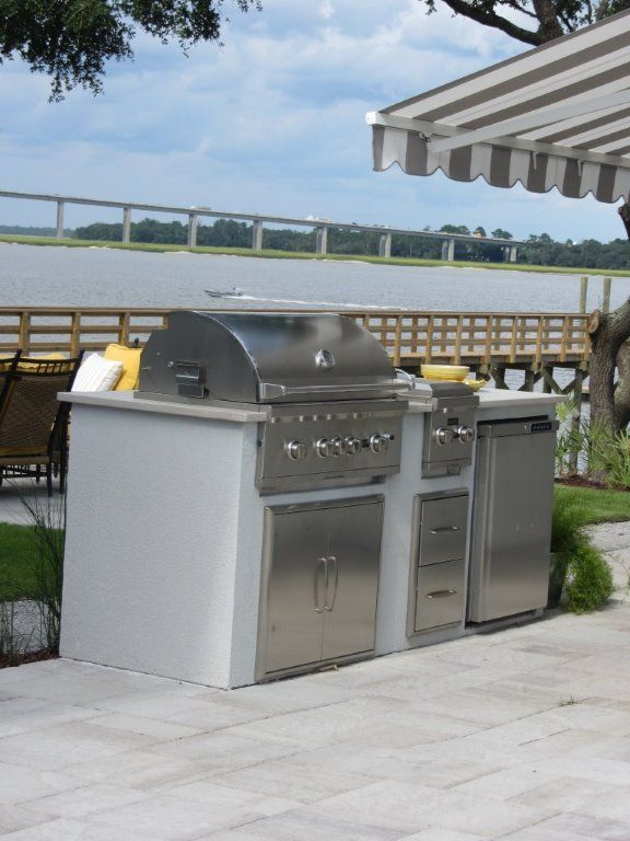Coastal Living 2013 House Of The Year    Featuring Coyote Outdoorsu0027s  S Series Grill And Dual Side Burner With Double Access Doors, Two Drawer  Cabinet And ...