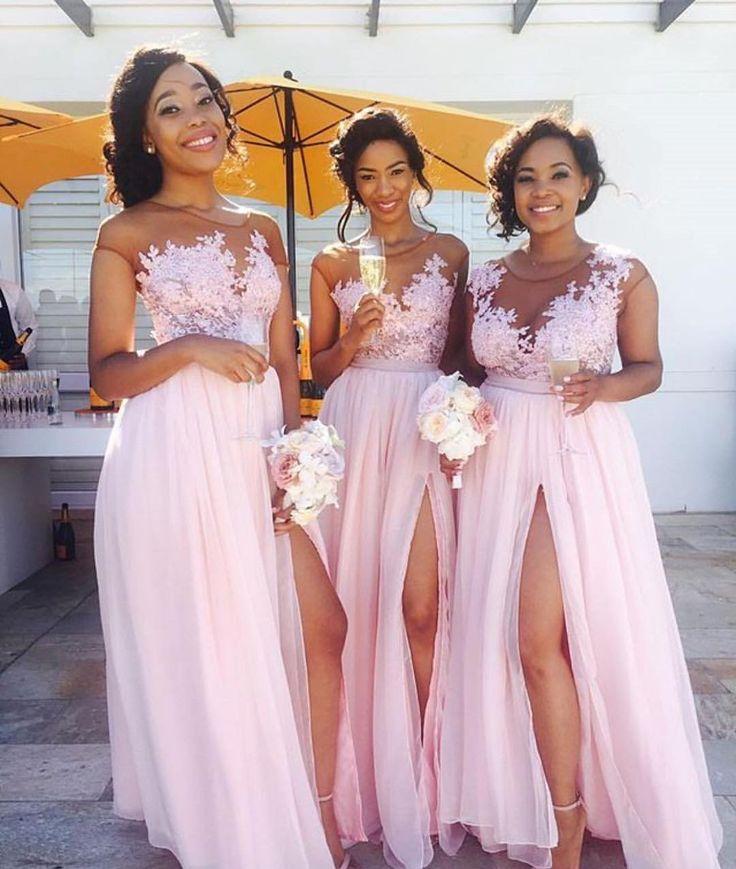 "968 Likes, 17 Comments - Black Bride (EST 1998) (@blackbride1998) on Instagram: ""Pretty in pink!  #blackbride1998 #Repost @tlassy_ ・・・  #SiyaAndLuSayIDo  cred: @phumemkhungo…"""