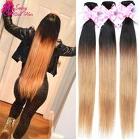 11 best sassy girl human hair images on pinterest brazilian hair 7a malaysian straight ombre honey blonde weave 100 human hair weave brands cheap hair bundles 4 pmusecretfo Gallery