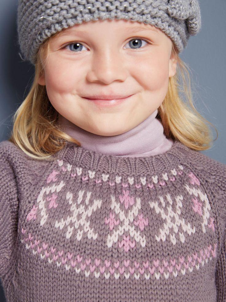 Vestido de punto, ¡para vestir con absoluta comodidad y siempre a la moda! #vestido #lana #niña