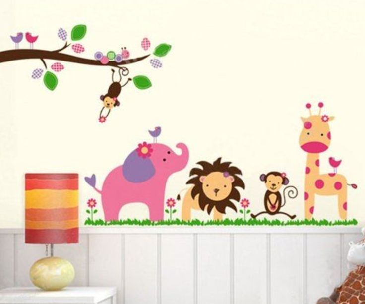 Jungle Animal Wall Stickers
