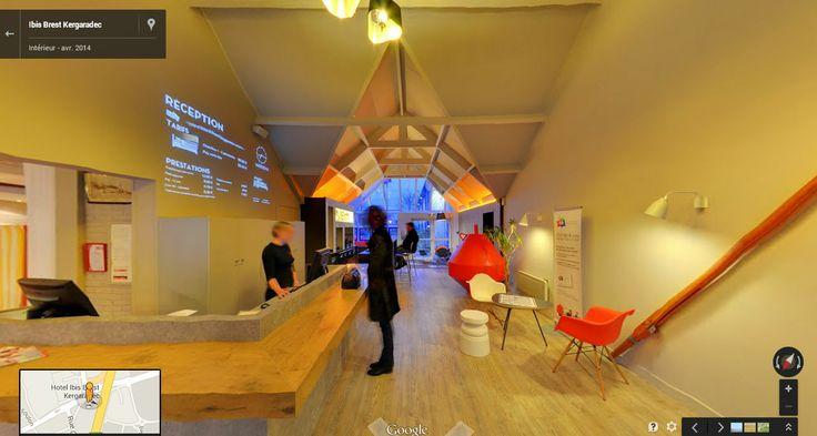 Visite virtuelle de l'Hôtel Ibis Brest http://goo.gl/maps/5tU3L