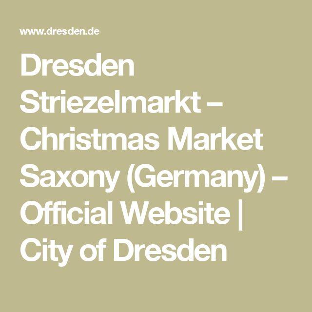 Dresden Striezelmarkt – Christmas Market Saxony (Germany) – Official Website | City of Dresden