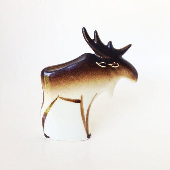 Vintage Arabia of Finland Moose by Anja Juurikkala by Phrantique