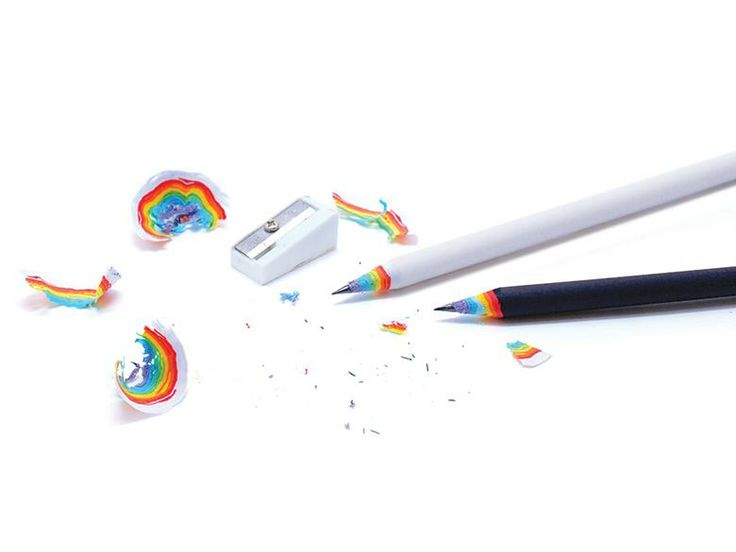 Duncan Shotton Rainbow Pencils