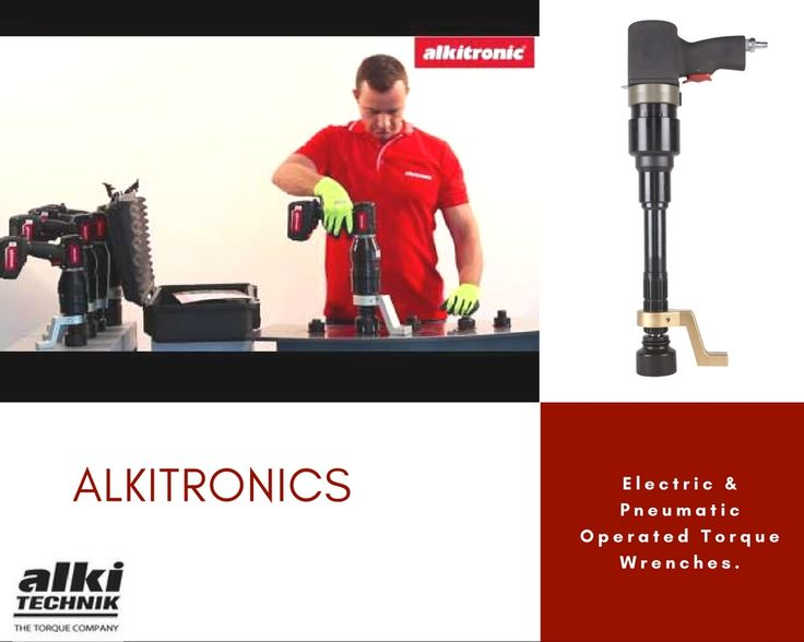 #Alkitronic is a German Co engaged in manufacturing of continuous rotating #Electric & #Pneumatic Operated Torque Wrenches.